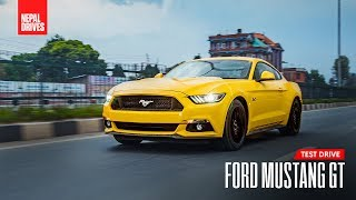 Nepal Exclusive: Ford Mustang GT | Test Drive, Review - Nepal Drives
