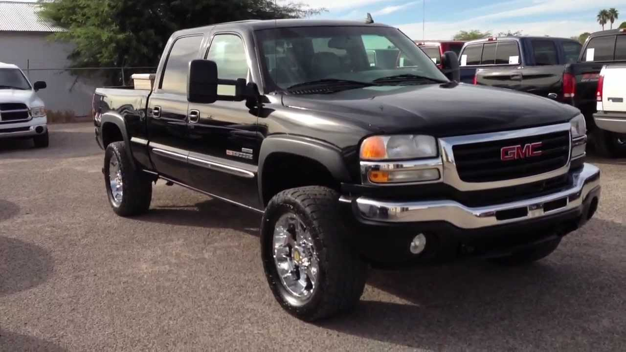 2006 Gmc Sierra 2500 Duramax Slt Diesel Wheel Kinetics Youtube