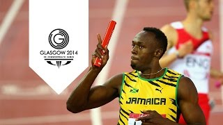Jamaica break Commonwealth 4x100m record - Usain Bolt | Unmissable Moments