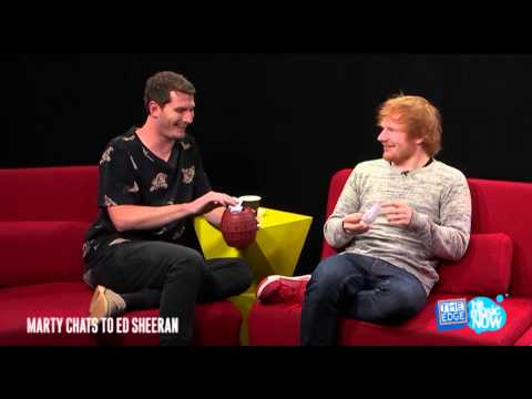Ed Sheeran talks about the size of Harry Styles'