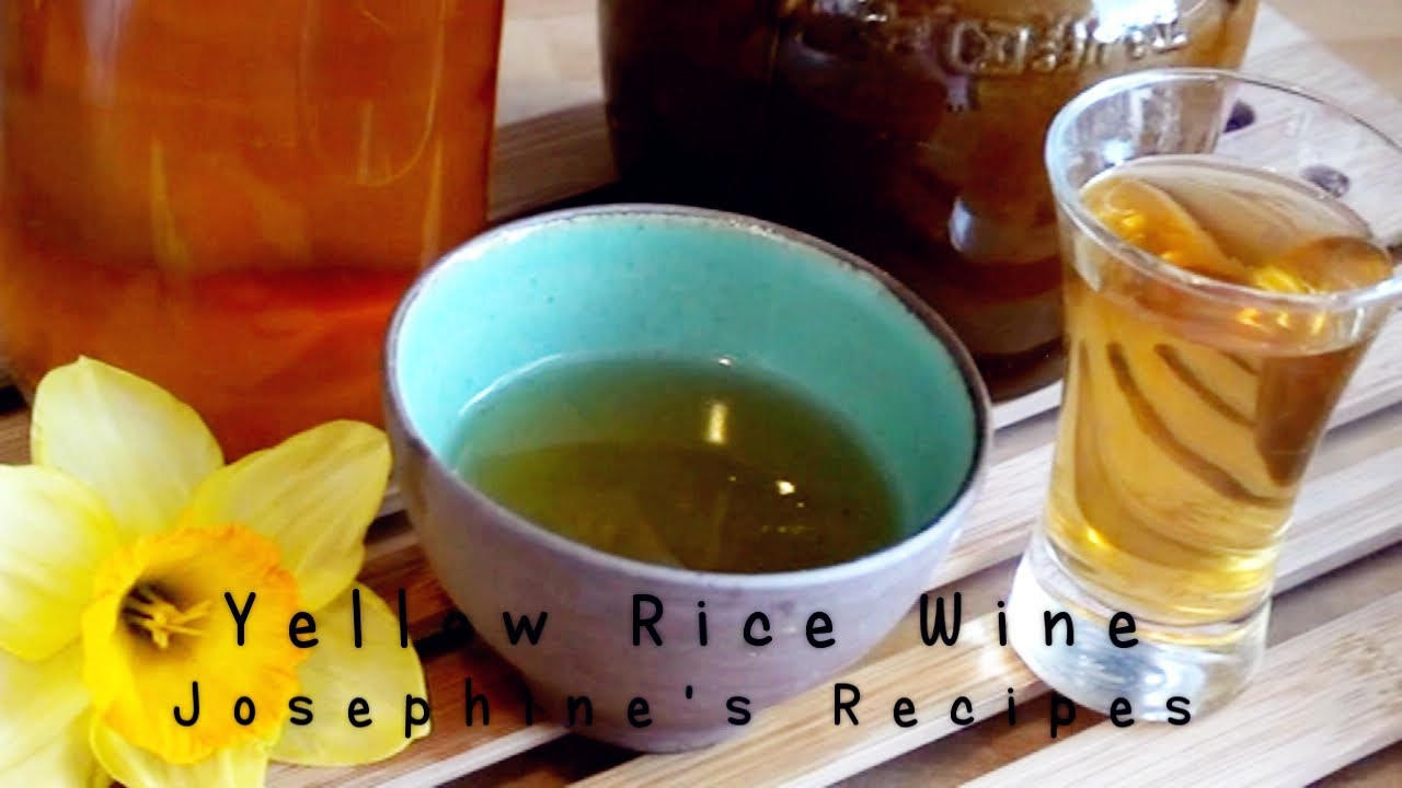 Traditional Chinese Yellow Rice Wine 黄酒| 米酒- JosephineRecipes.co ...
