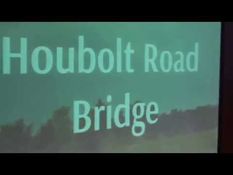 Houbolt Road Bridge, Truck Traffic, Joliet, Illinois