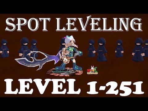 Spot Leveling 1-251 Versi SM [SEAL ONLINE BLADES OF DESTINY]