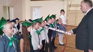 Ślubowanie klas pierwszych w Szkole Podstawowej nr 4 w Działdowie