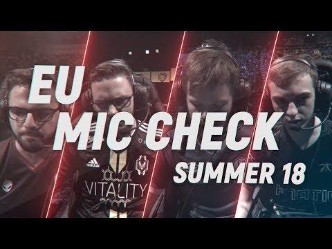 EU LCS Mic Check: Finals | Summer Split 2018