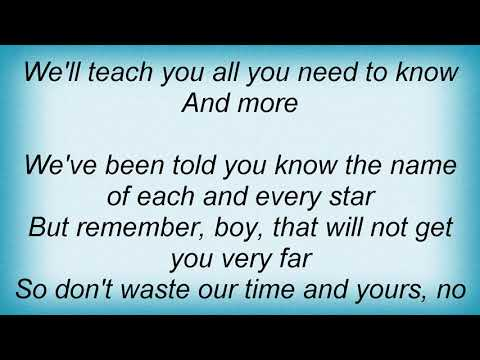 Kayak - The Student Lyrics