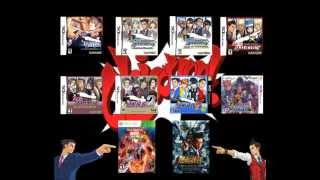 Repeat youtube video Ace Attorney Music Compilation: Objection! [Version 1] 2013