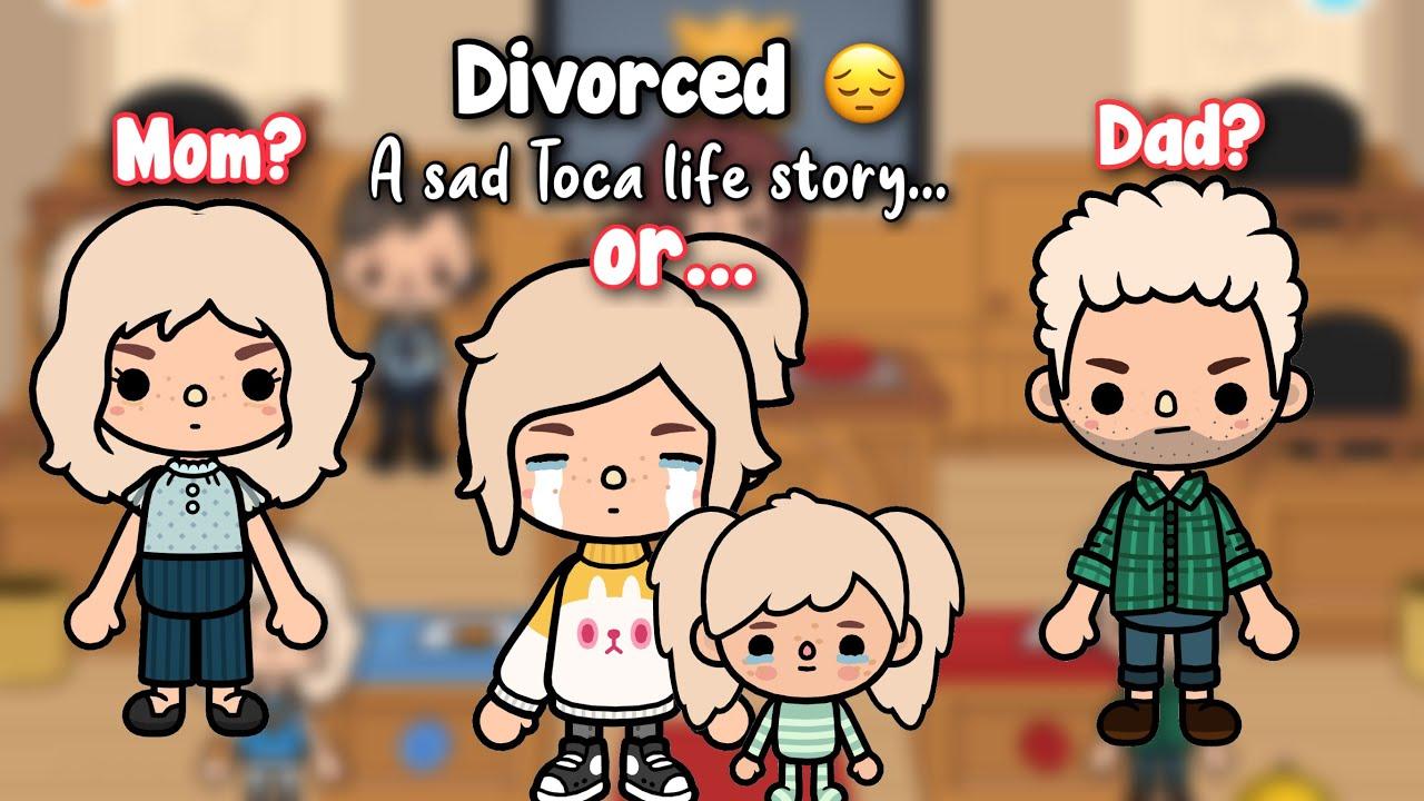 Divorced 😔   Toca life sad story   Toca shine 💗