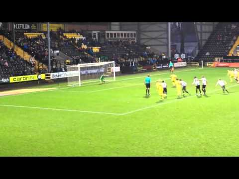 Liam sercombe pen vs notts county