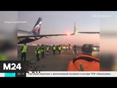 СК проверит инцидент с самолетами в аэропорту Шереметьево - Москва 24