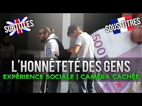 L'HONNÊTETÉ DES GENS- EXPÉRIENCE SOCIALE CAMÉRA CACHÉE