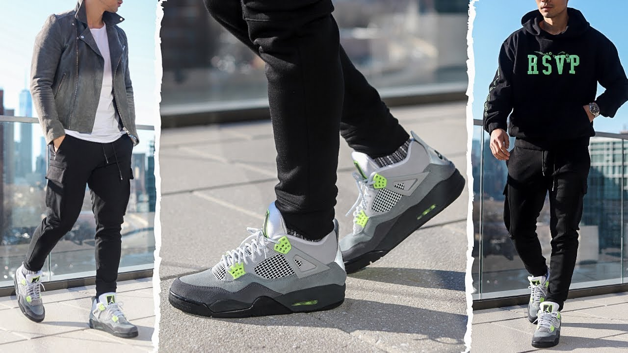 EARLY REVIEW: JORDAN 4 NEON How To Style | Tailored Hype