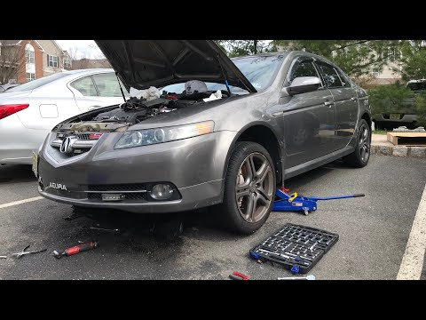 How To Replace 2004-2008 Acura TL Radiator | DIY EASY!
