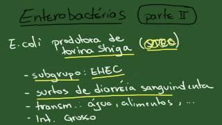 Enterobacterias 2: Escherichia coli - Resumo - Microbiologia