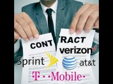 Contract Vs No Contract Vs Prepaid Phones Whats The Difference? Sprint Verizon AT&T T-Mobile Part 1