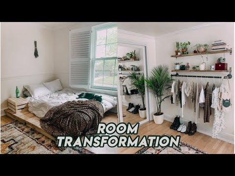 BEDROOM MAKEOVER + room tour