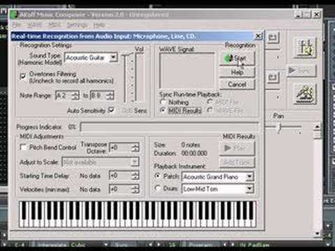 Hybrid rerouting trickery using Akoff music composer