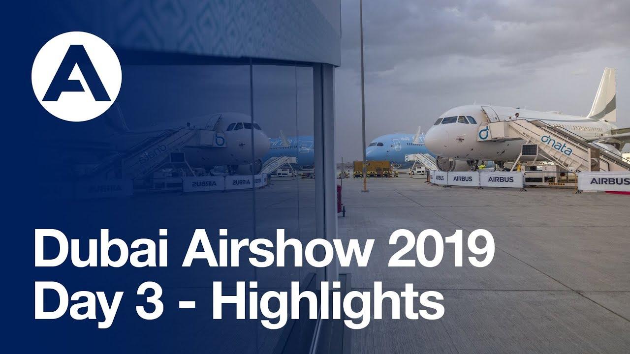Dubai Airshow 2019: Day 3 - Highlights