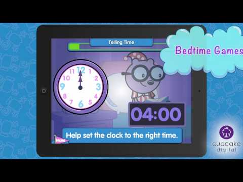 Good Night Wubbzy Bedtime Counting Enhanced Story App Trailer