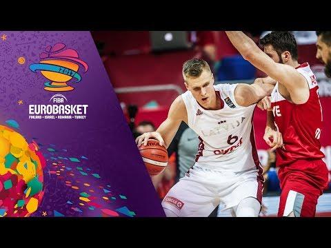 Latvia v Turkey - Highlights - FIBA EuroBasket 2017
