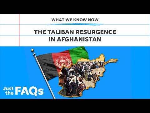 Taliban's return in Afghanistan and what it means for US involvement | Just the FAQs