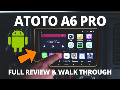 ATOTO A6 Pro Headunit Review And Complete Walk Through