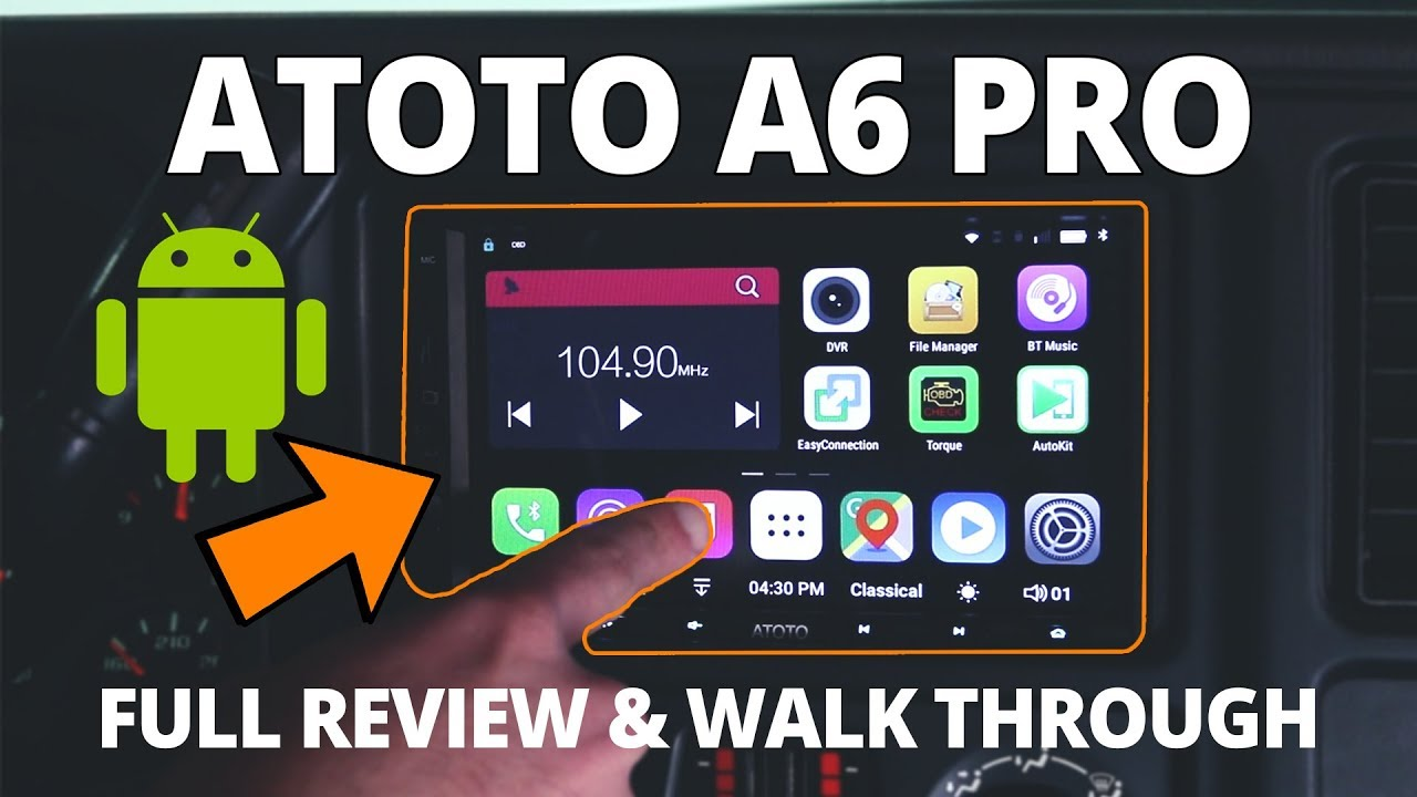 Atoto A6 Firmware Download