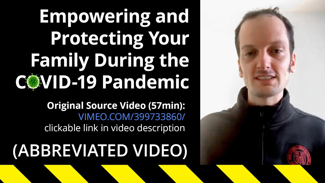 Sharing This Informative Video on How to Educate and Empower Ourselves During the COVID-19 Pandemic
