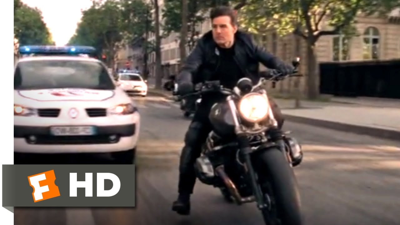 Mission Impossible Fallout 2018 Motorcycle Chase Scene 4 10