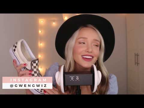 ASMR Summer Shoe Collection (Tapping, Fabric Sounds, Whispers) To Help You Sleep! | GwenGwiz