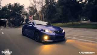 Lexus IS-F on 20'' Vossen VVS-CV7 Concave Wheels | Rims