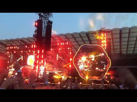 Coldplay Brussels 21/06/2017 Fix You