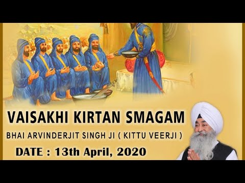 Live-Now-Bhai-Arvinderjit-Singh-Ji-Kittu-Veerji-13-April-Live-Gurbani-Kirtan-2020
