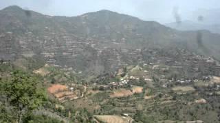Shreenagar Hill looking north Tansen Palpa Nepal