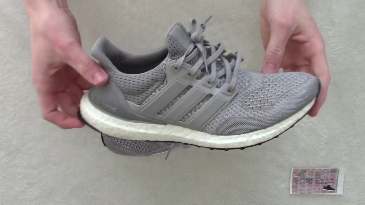 d7931151fdc Adidas Ultra Boost Silver LTD 1.0 Review - YouTube