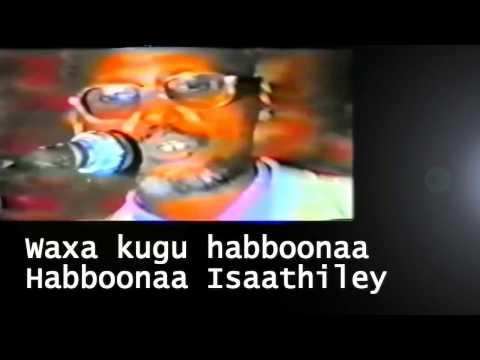 Aun Cumar N Cabdulle Heesta Hannaan Socodka Laafyaha With Lyrics