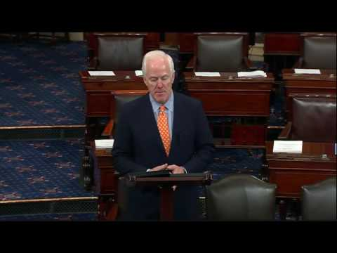 Cornyn Introduces Legislation to Stop Terrorists from Buying Guns, Protect Second Amendment