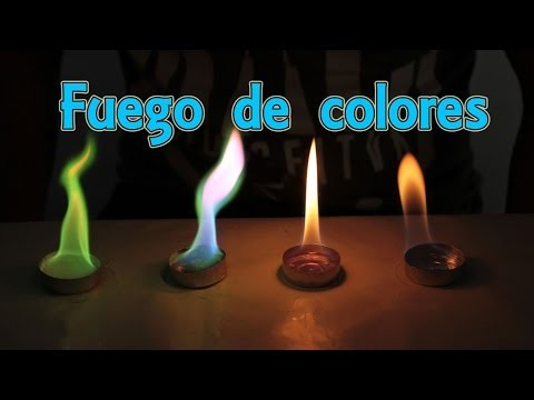 How to make fire colors (Home Experiments)