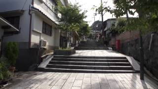 宝山寺門前参道 奈良県生駒市