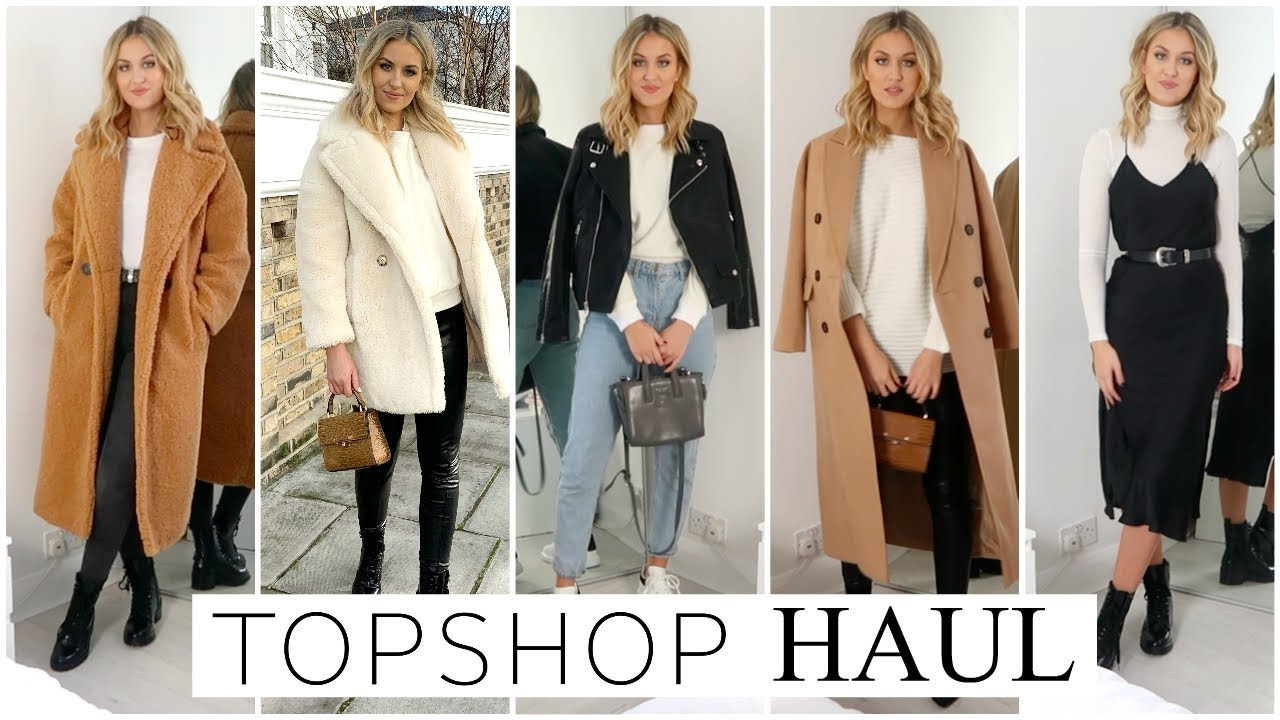 TOPSHOP HAUL & STYLING | WINTER OUTFIT IDEAS 4