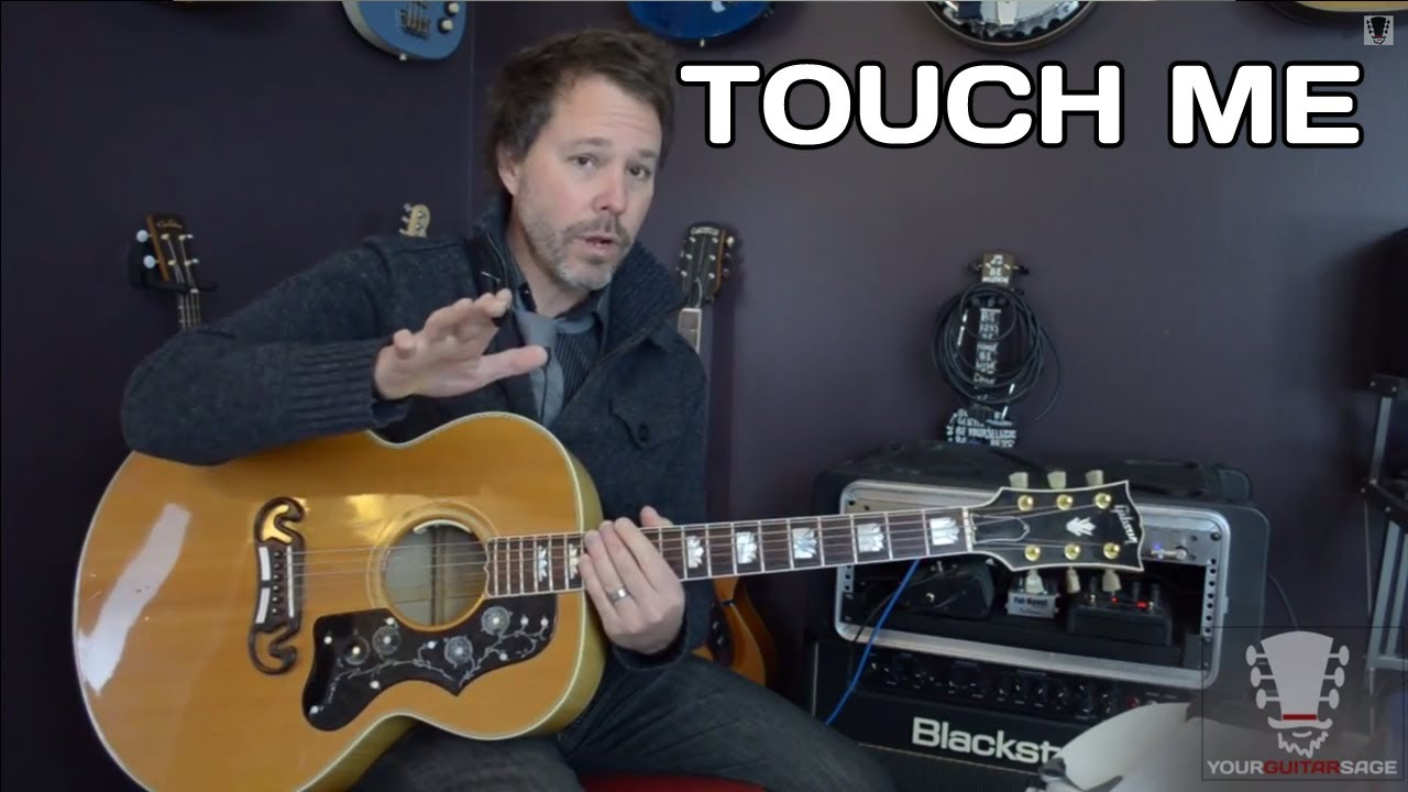 How To Play Touch Me By The Doors Bar Chords Guitar Lesson Youtube