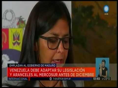El Mercosur emplazo a Venezuela || Television Publica Noticias Internacional