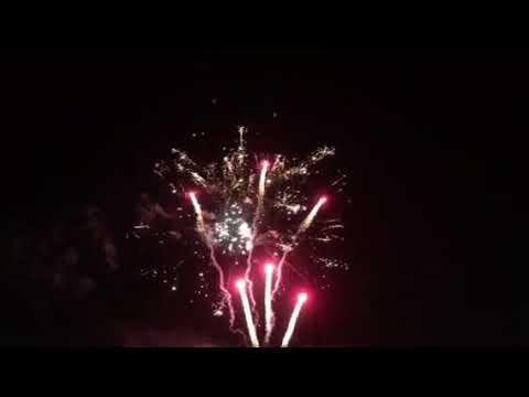 Fireworks show Saturday Night