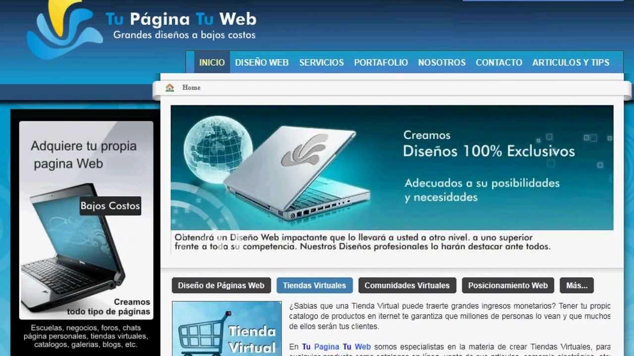 10 Tips Para Tener Una P Gina Web De Xito Dise O Web