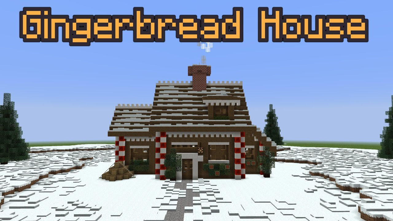 Building With Grian - Gingerbread House