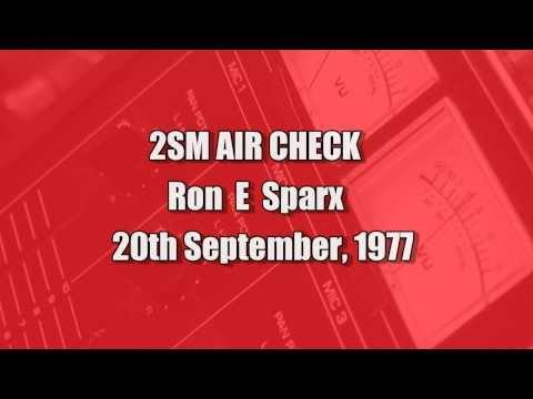 SYDNEY RADIO -  RON E SPARX AIRCHECK