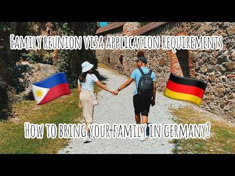 FAMILY REUNION VISA APPLICATION REQUIREMENTS IN GERMANY