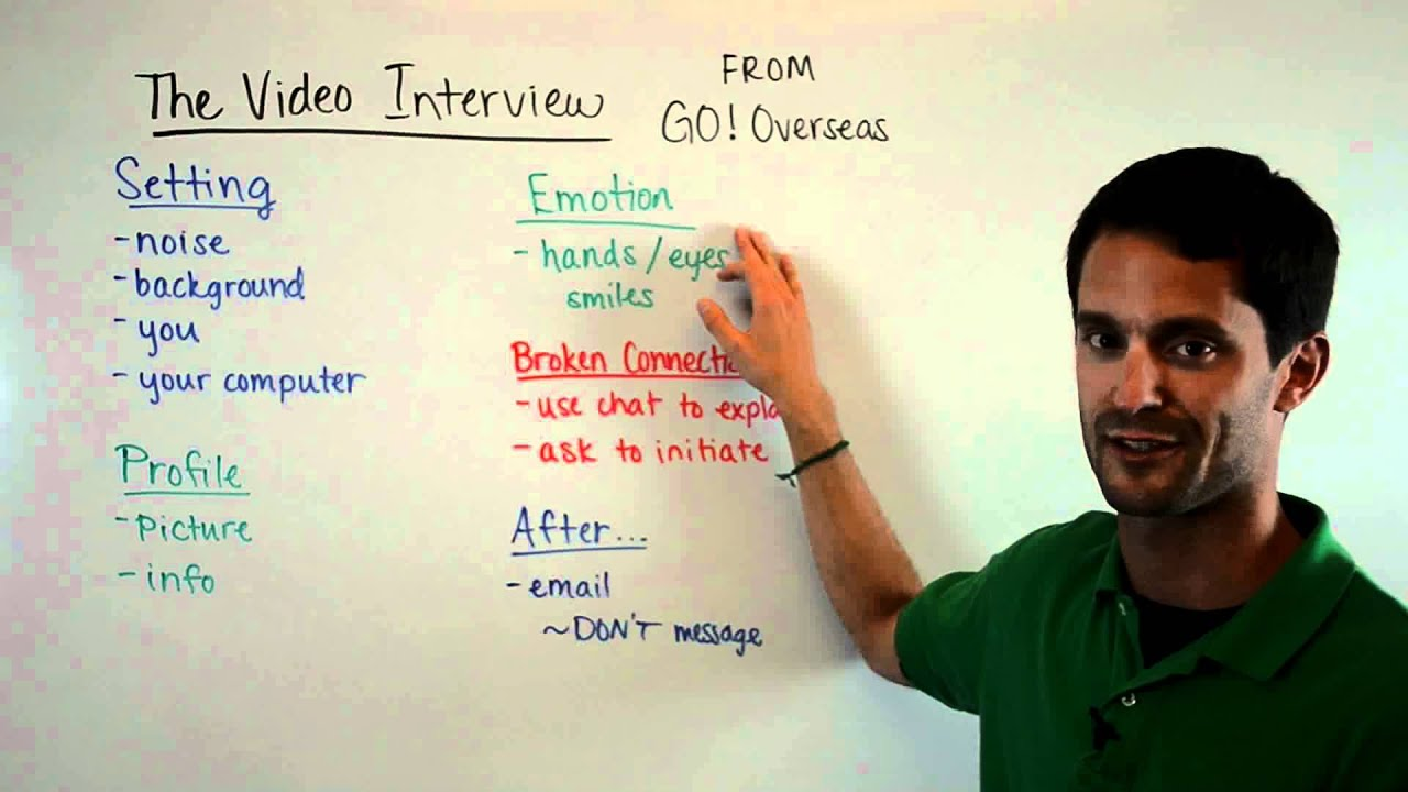 teach abroad the video interview skype gchat etc teach abroad the video interview skype gchat etc