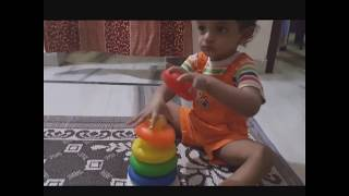 Indian 1 Year Old Cute Baby Learning Videos