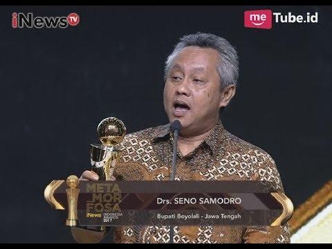 Kab. Boyolali Jawa Tengah Mendapatkan Apresiasi Pelayanan Publik - Indonesia Awards 2017